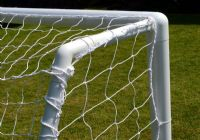 Mini Soccer Goal posts - grass surface - one section crossbar